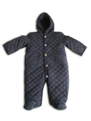 Ralph Lauren( ポロラルフローレン )Baby Kilting cover all (Navy)