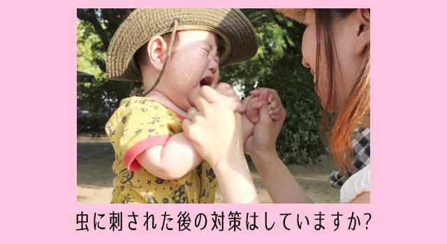 子供の虫刺され!保健師が教える跡を残さない方法と虫除け薬の選び方